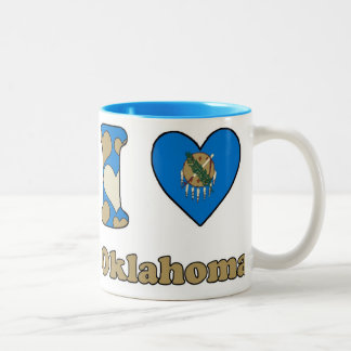 I love Oklahoma Two-Tone Coffee Mug