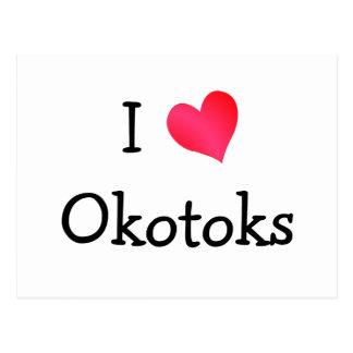 I Love Okotoks Postcard