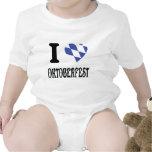 I love oktoberfest icon baby bodysuits