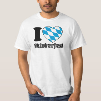 I Love Oktoberfest - Shirt for Men