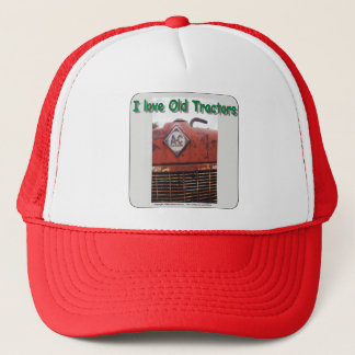 I love old AC tractors Trucker Hat