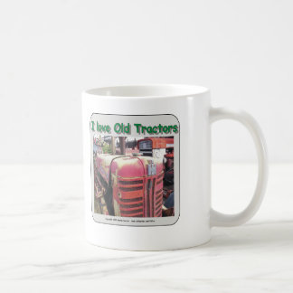 I love old International Harvester tractors Coffee Mug