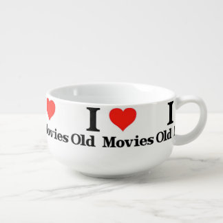 I Love Old Movies Soup Mug