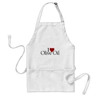 I Love Olive Oil Standard Apron