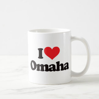 I Love Omaha Coffee Mug