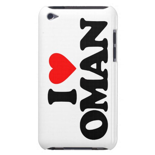 I LOVE OMAN iPod TOUCH CASE