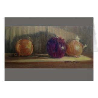 """I Love Onions"" Card"