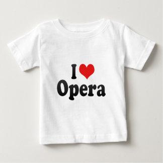 I Love Opera Baby T-Shirt
