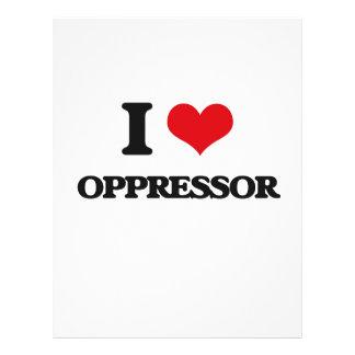 I Love Oppressor Full Color Flyer