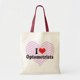 I Love Optometrists Tote Bag