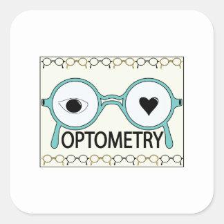 I Love Optometry Sticker