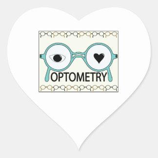 I Love Optometry Stickers