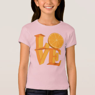 I LOVE ORANGE(TANGERINE/MANDARIN) T-Shirt