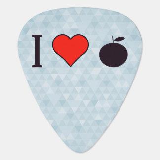 I Love Oranges Guitar Pick