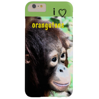 I Love Orangutans Barely There iPhone 6 Plus Case