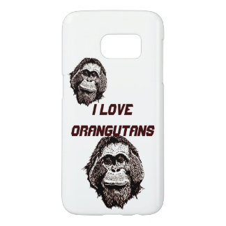 I Love Orangutans Official Logo Samsung Galaxy S7 Case