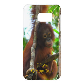 I Love Orangutans Samsung Galaxy S7 Case