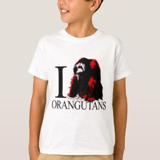 I Love Orangutans T-shirts