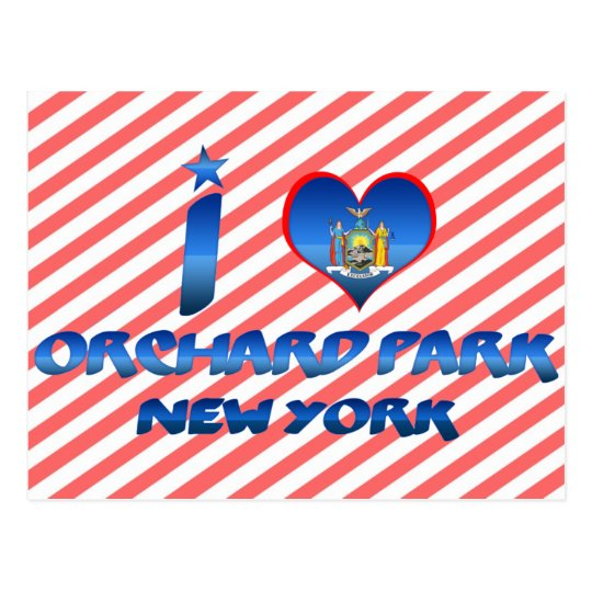 I love Orchard Park, New York Postcard