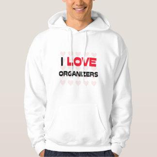 I LOVE ORGANIZERS SWEATSHIRT