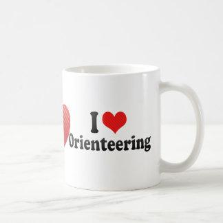 I Love Orienteering Coffee Mug