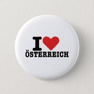 I love Österreich - Austria 2 Inch Round Button