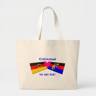 I Love Ostfriesland ist mir lieb Jumbo Tote Bag