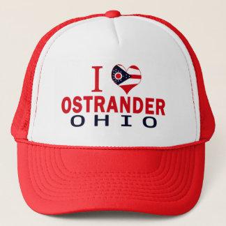 I love Ostrander, Ohio Trucker Hat