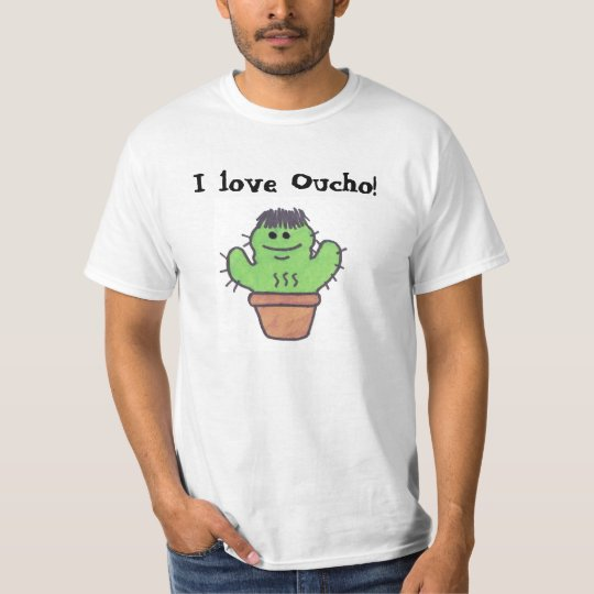 """I love Oucho"" T Shirt"