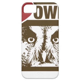 I Love Owls Case For The iPhone 5