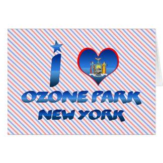 I love Ozone Park, New York Card