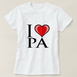I Love PA - Pennsylvania T-Shirt