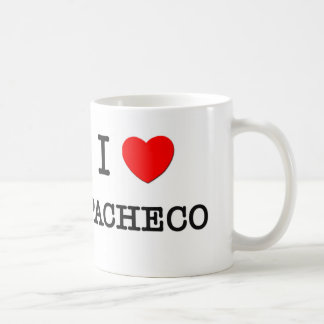 I Love Pacheco Coffee Mug