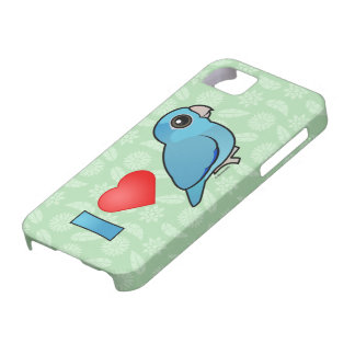 I Love Pacific Parrotlets (blue) Case For The iPhone 5
