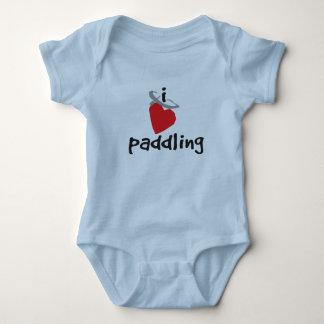 I Love Paddling - Baby One Piece Baby Bodysuit
