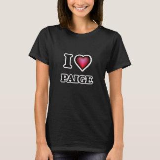 I Love Paige T-Shirt