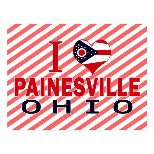 I love Painesville, Ohio Postcard