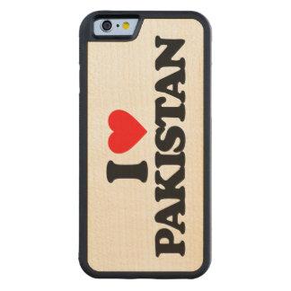 I LOVE PAKISTAN CARVED® MAPLE iPhone 6 BUMPER CASE
