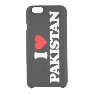 I LOVE PAKISTAN CLEAR iPhone 6/6S CASE