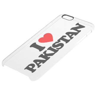 I LOVE PAKISTAN CLEAR iPhone 6 PLUS CASE