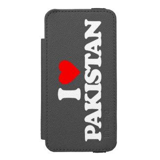 I LOVE PAKISTAN INCIPIO WATSON™ iPhone 5 WALLET CASE