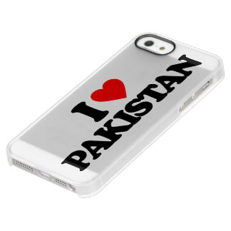 I LOVE PAKISTAN PERMAFROST® iPhone SE/5/5s CASE