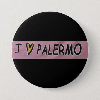 I love Palermo Design 3 Inch Round Button