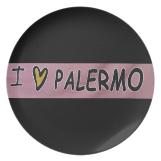I love Palermo Design Plate