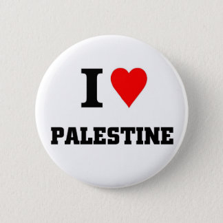 I love Palestine 2 Inch Round Button