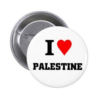 I love Palestine 2 Inch Round Button