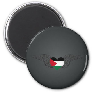 I Love Palestine -wings Magnet