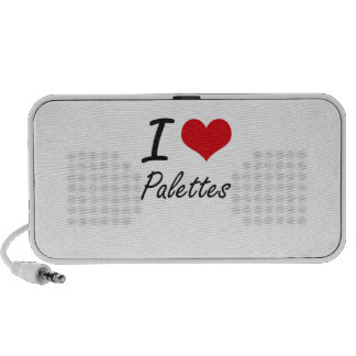 I Love Palettes Travelling Speakers