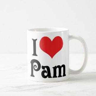 I Love Pam Coffee Mug