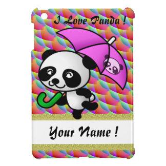 I love panda ipad mini rainbow 8 iPad mini case